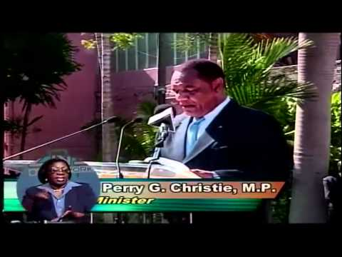 Perry Christie Sworn In As Prime Minister