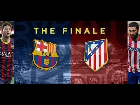 FC Barcelona vs Atletico Madrid 1-1 (La Liga Finale) 17/5/2014 HD