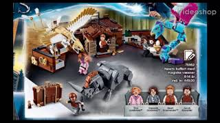 ANALYSIS: LEGO Fantastic Beasts 2018 Newt's Case of Magical Creatures! (75952)