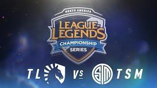 TL vs. TSM - Week 1 Day 1 | NA LCS Spring Split | Team Liquid vs. TSM (2018)