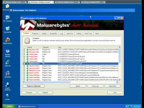 Testing AVG VS AVAST VS AVIRA VS MSE Against Viruses on April 12 2010 Part 4