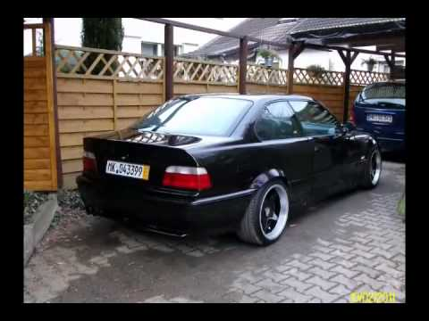 Bmw E36 325 E46 Front Tuning Youtube