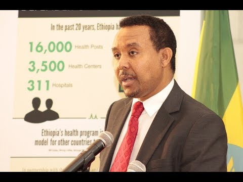 Dr. Addisu Gebregziabher's Full Speech At Ethiopian Embassy
