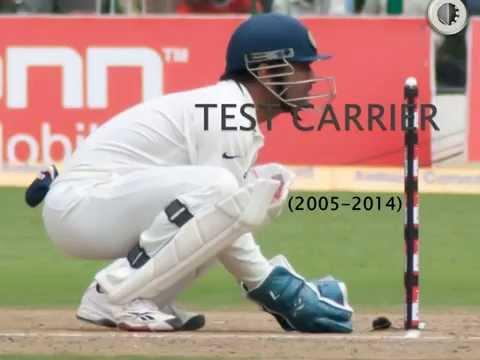 Mahendra Singh Dhoni Test Carier