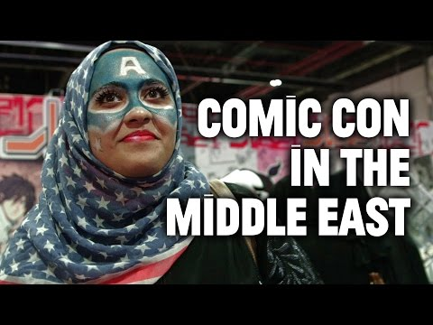 Inside the Middle East Comic Con in Dubai