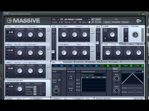 NI Massive Tutorial - Big Room House Lead