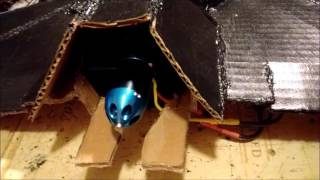 RC Reaper Jet EDF Cardboard Build Part: 2 Will It Fly???