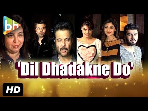 Priyanka Chopra | Anil Kapoor | Farah Khan At The Preview Of Theatrical Trailer Of 'Dil Dhadakne Do'