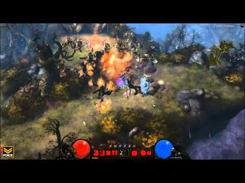 Diablo 3 - Witch Doctor - Gameplay