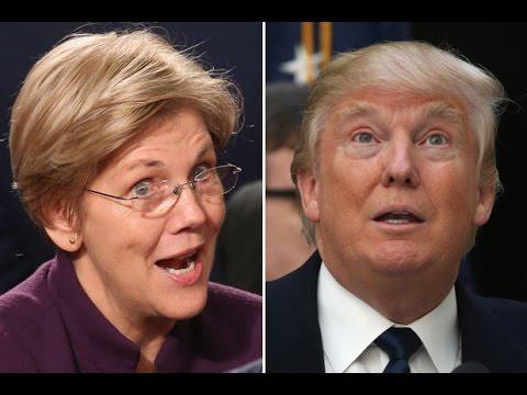 Elizabeth Warren: Trump Is 'A Toxic Stew Of Hatred & Insecurity'