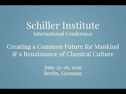 """Berlin International Conference """"Teaser"""" — 'Creating A Common Future For Mankind'"""