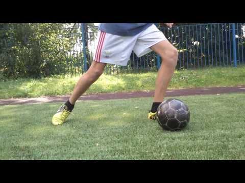Как сделать мяч крученый видео