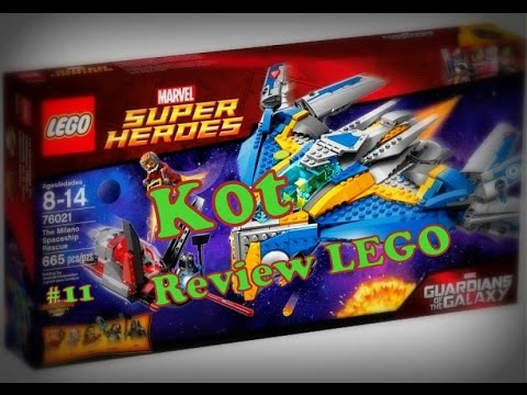 Обзор Набора LEGO (Marvel Super Heroes 76021)