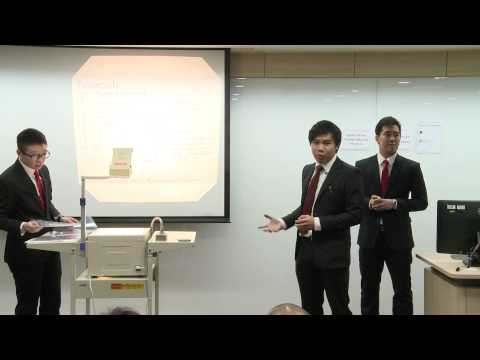 HSBC / HKU Asia Pacific Business Case Competition 2015 Round 3A2 Nanyang Technological University