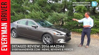 Here's the 2016 Mazda6 Review on Everyman Driver