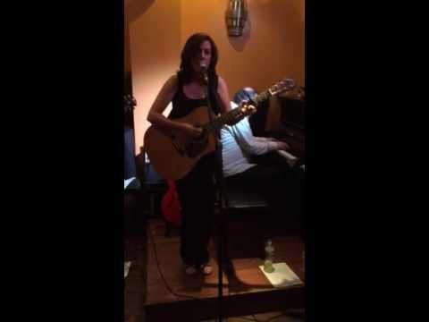 Valerie Gomes original song Jerusalem at Path Cafe 2015