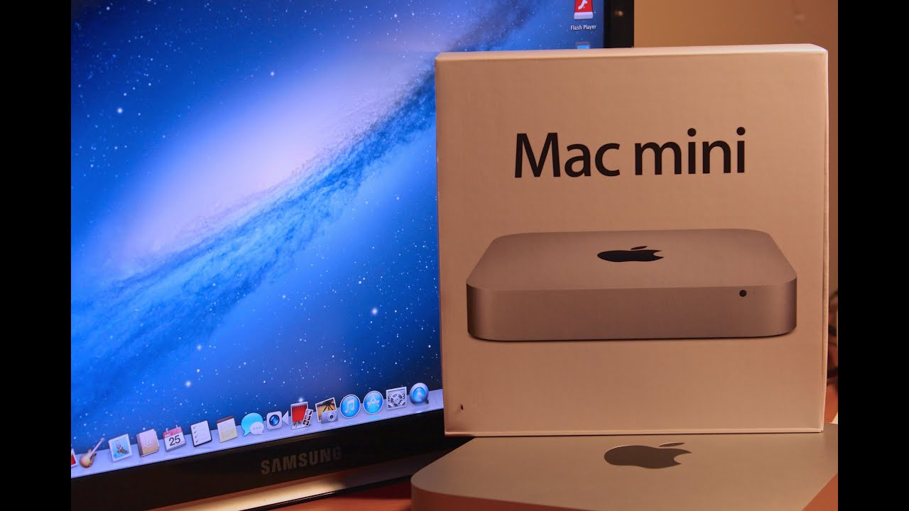 mac mini 2012 i7 2 6 ghz unboxing and benchmarks youtube. Black Bedroom Furniture Sets. Home Design Ideas