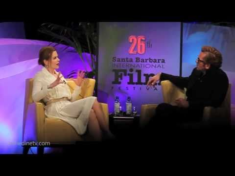 "For Wine, Food, Travel, Lifestyle videos visit http://glamorousbite.com ""Honoring Nicole Kidman is so exciting for us here at SBIFF,"" comments Roger Durling. ""Her work is immensely diverse..."