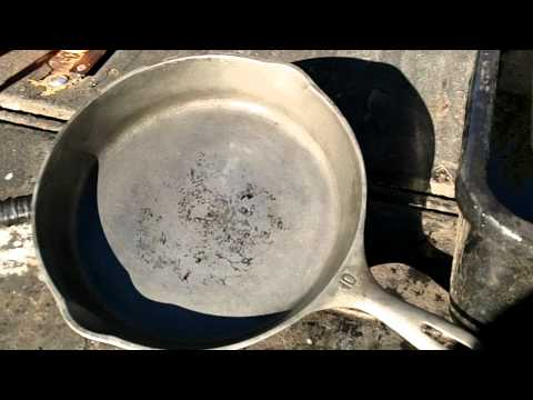 Operation Skillet Rescue - Restoring a Cast Iron
