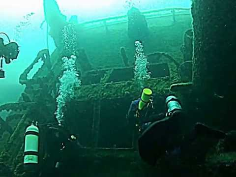 Lake Michigan Wreck Dive: Prins Willem (the Willy) July 13, 2012, Milwaukee, WI