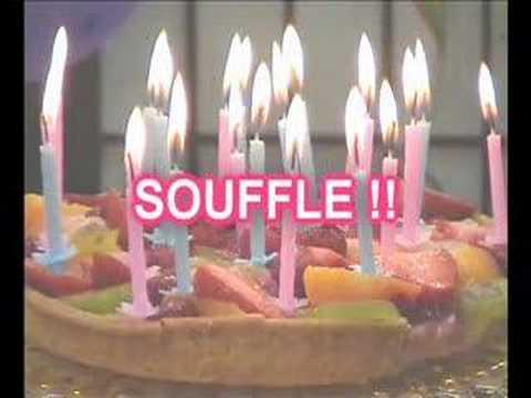 Happy Birthday   Bon Anniversaire video