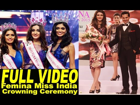 Miss India 2015 Sub Contest Crowning Ceremony | Femina Miss India Crowning Ceremony Full Show