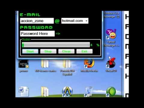 MSN messenger account cracker 20