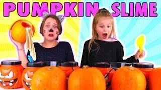 Don't Choose the Wrong Pumpkin Slime Challenge!!