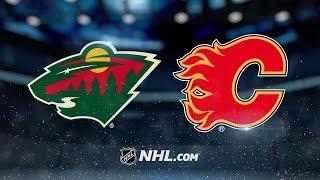 Monahan, Elliott lead Flames to 5-1 win against Wild