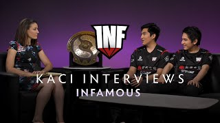 Infamous Interview with Kaci - The International 2019