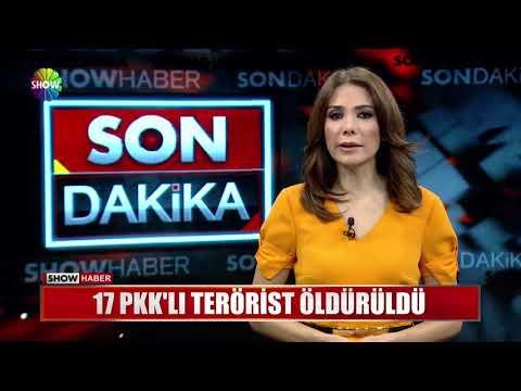 17 PKK'lı terörist öldürüldü
