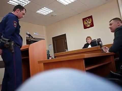 Юрист Антон Долгих. допрос инспектора ДПС Усатова в Слободском районном суде. Судья А.Смолина