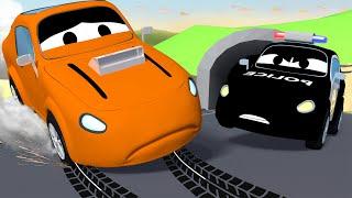Авто Патруль -  Воришка пиццы - Автомобильный Город  🚓 🚒 детский мультфильм
