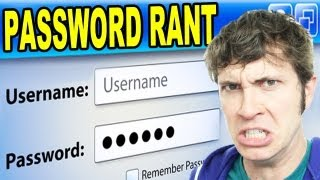 PASSWORD RANT