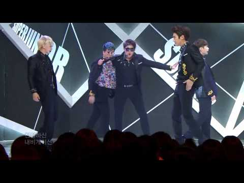 【hd 120901 Music Core】super Junior - Spy video