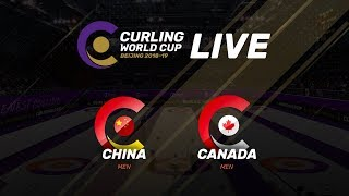 China v Canada - Men - Curling World Cup Grand Final - Beijing, China