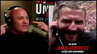 Jan Blachowicz on Jacare, Rockhold and Recent Success | Unfiltered Podcast