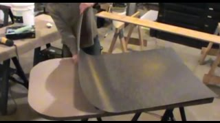 How to make a laminate counter top