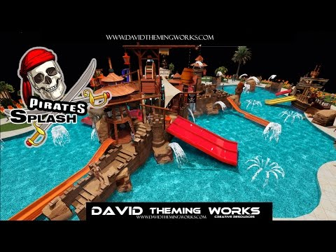 Children Swimming Pool Playgrounds Manufacturers- DAVID THEMING WORKS