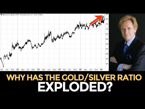 Why Has the Gold/Silver Ratio Exploded? Mike Maloney