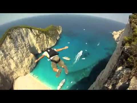 Base Jump La Baie Du Naufrage YouTube