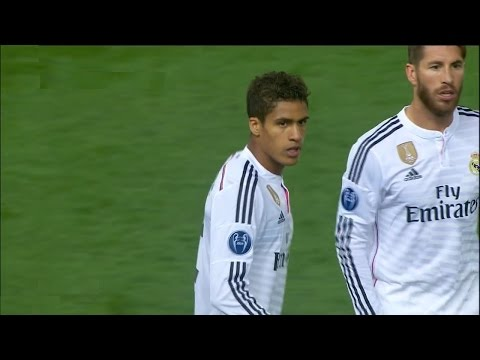 Rafael Varane vs Atletico Madrid 14 04 2015