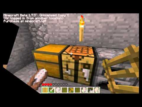 Let's play minecraft! with xeon, shade &; ady ep. 1 part 2 - first