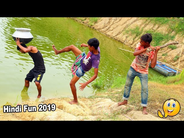 Indian New funny Video😄-😅Hindi Comedy Videos 2019-Episode-49--Indian Fun    ME Tv thumbnail