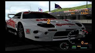 Gran Turismo 3 Playthrough Part 51.5- MAX SPEED TEST FTO LM RACE CAR!