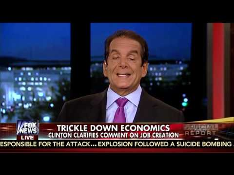 Krauthammer: Dems 'Overestimate' Hillary's Skill as a Politician