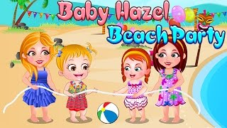 Baby Hazel Game Movie - Baby Beach Activities - Dora the Explorer
