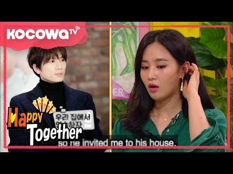 [Happy Together] Ep_511_Girls' Generation Yuri got invited to Ji Sung's house