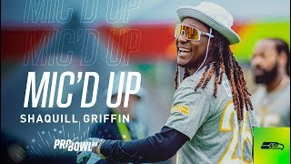 Shaquill Griffin Mic'd Up at 2020 Pro Bowl Practice Day Two