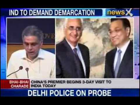 NewsX : Li Keqiang to visit India today
